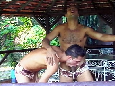 Fabio and Armando Outdoor erotism