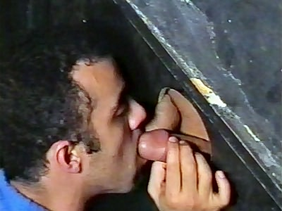 Paulo Glory Hole Cock Stuffing